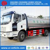 FAW Insulated Milk Tank Truck 12000L Milk Transport Truck