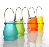 Hot Sell Good Quality Glassware Hanging Candlestick, Candleholder