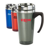 Stainless Steel Travel Mug Coffee Mug with Plastic Handle