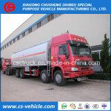 Heavy Duty Sino Truck HOWO 8X4 30000L Oil Tank Truck 35000L Fuel Tank Truck for Sale