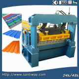 Corrugated Glazed Tile Cold Roll Forming Machine