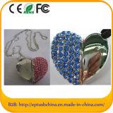 Heart Shape Diamond USB Flash Drive (ES535)