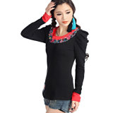 Best Selling Women′s Embroidered T-Shirts