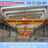 Qz 5ton~20ton Electric Hoist Double Gieder Overhead Crane with Grab