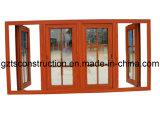 Energy Efficient Aluminium Casement Window with Thermal Broken Profile