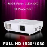 Top Level 1080P 3LED+3LCD Projector (X2000vx)