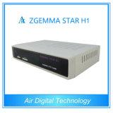 Zgemma-Star H1 Satellite Receiver No Dish Dvbs2+C Satellite Receiver