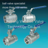 Threaded 2PC Stainless Steel Ball Valve