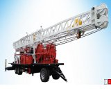 High Quality Trailer Mounted Water Well Drilling Rig