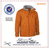 Unisex Doubleside Multicolor Softshell Fleece Fabric Jacket