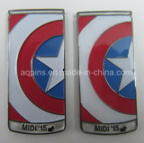 Professional Manufacturer Metal Pin Badge as Souvenir (badge-214)