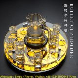 Rotating Acrylic Bullet Cup Holder