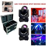 Rasha New Hot Sale 150W LED Moving Head Spot Light Stage Moving Head Gobo Light with 8 Facet Prism Stage Lighting