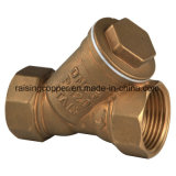 Brass Y Strainer with Stainless Mesh
