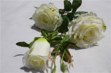 2017 New Hotselling High Quality Cheap Artificial White Rose Flower