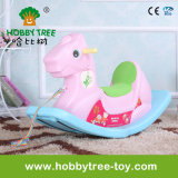 2017 Best Gift for Baby Indoor Plastic Rocking Horse Toys (HBS17014C)