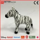 Realistic Soft Toy Plush Animal Zebra