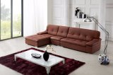 Living Room Soft L Shape Leather Sofa