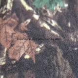 Forest Printing Polar Fleece with Two Sides Brush 1 Side Antipilling