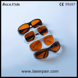 High Security of 532nm & 1064nm Laser Safety Goggles/ Laser Safety Glasses for 2 Line YAG and KTP & Q-Switched Machines