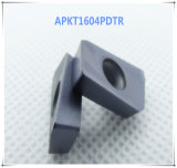 Cutoutil Apmt1604 M2 for Steel Alternative of Mitsubishi Carbide Insert  CNC Machining Part