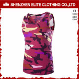 Custom Made Fashion Pink Camo Tank Top Sublimation (ELTVI-30)