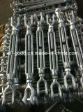 Hardware Us Forged Glvanized Drop Forged Jaw & Jaw Fastener Turnbuckle