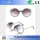 Men Women Retro Vintage Round Mirrored Sunglasses