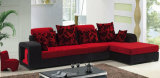 Modern Colorful Fabric Home Wooden Sofa Sets (HX-SL018)