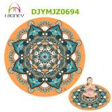 Custom Printed Round Yoga Mat Meditation Mat Carpet Deco Mat