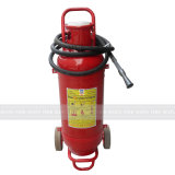 50kg Bc Fire Extinguisher with Trolley