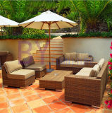 Outdoor Hotel Villa Balcony Garden Combination of Rattan Sofa