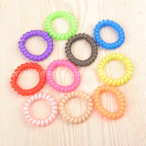 Popular Telephone Wire Hair Ring Band