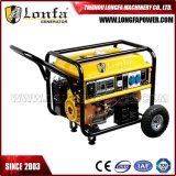 Full Copper Alternator 5kw Gasoline Engine Generator (Electric start with battery)