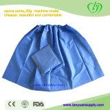 Comfortable Disposable Boxer Shorts Blue Underpants