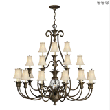 Modern Iron Metal Chandelier Light for Hotel House (SL2312-12+8+4)