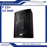 China Factory Single 12 Inch Audio Professional Speaker (F 12+)