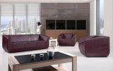Modern Luxury Office Furniture Sectional Genuine Leather Sofa