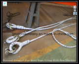 Pressed Flemish Eye Wire Rope Sling with Bow Shackle