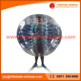 PVC Top Human Amusement Park Inflatable Football Bumper Bubble Ball (Z3-102)