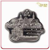 Custom Shape and 3D Logo Metal Fridge Magnet for Souvenir