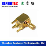 PCB Mount Right Angle SMB Plug Connector