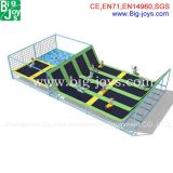 Commercial Used Big Indoor Trampoline Park for Kids and Adults