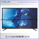 "43"" DVB-T2 S2 2 Tuner FHD Digital Smart LED TV Aluminum Alloy Cabinet"