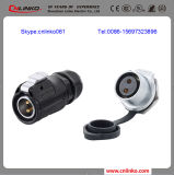 Lp-20 Power Waterproof Connector with 2 Pins