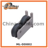 Plastic Bracket with Double Roller for Popular Sale (ML-DD002)