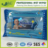 Private Label Aloe Vera Spunlace Baby Wet Tissues