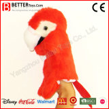 Stuffed Animal Soft Toy Parrot Hand Puppet for Kids