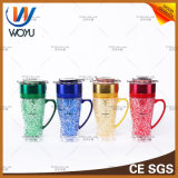 New Type of Portable Water Cup with LED Water Pipe