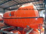 solas 7m marine lifeboat, totally enclosed lifesaving boat, life